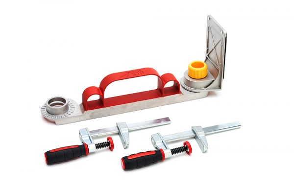 Sawing straight and safely with the ToolKid saw guide!