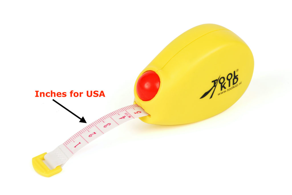 Measuring tape with flexible tape ruler for measuring and marking